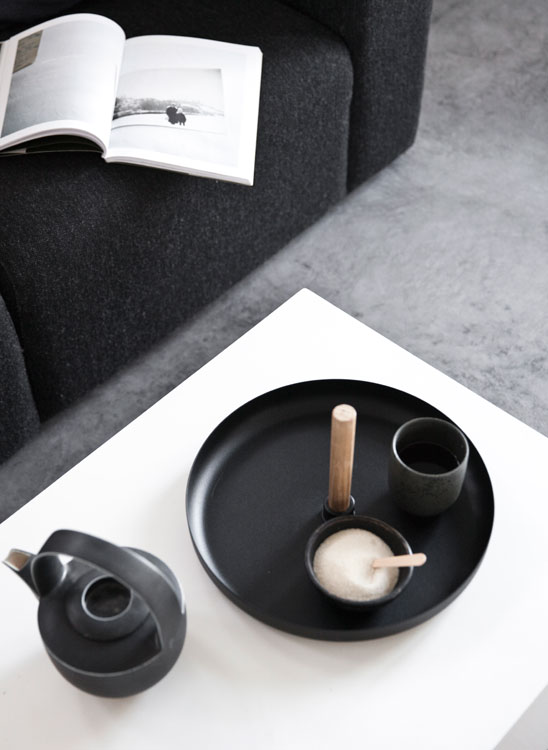 Holz, Keramik, Filz - eine tolle Kombination!