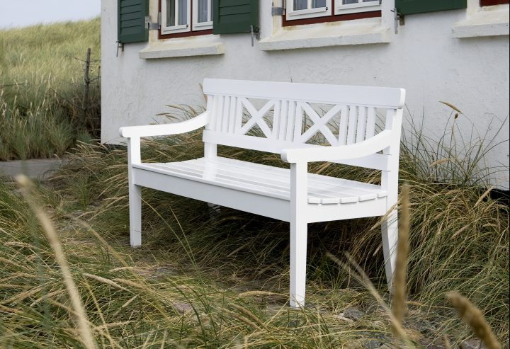 Drachmann Bench 165, White 02