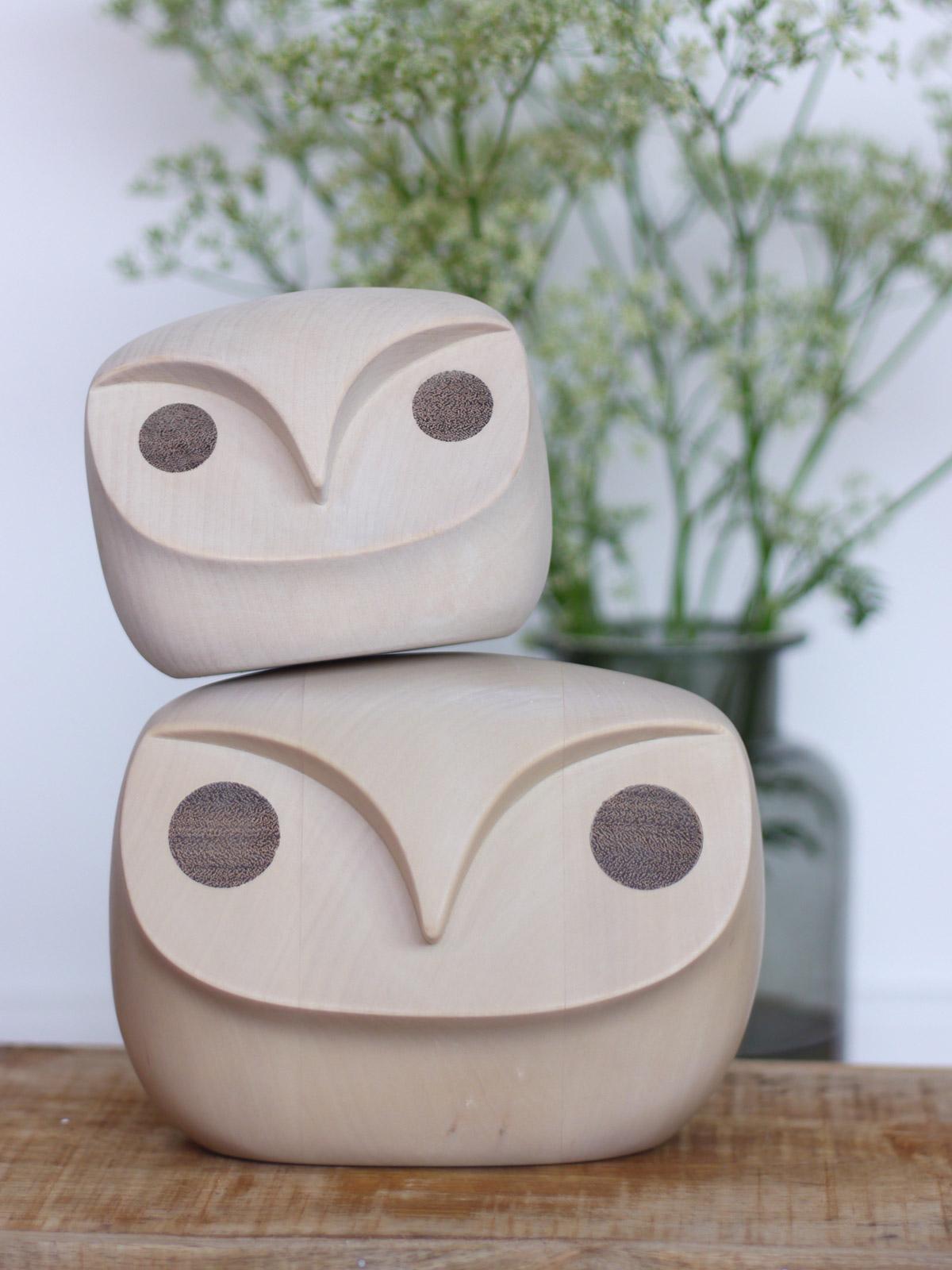 HOWDY OWL groß und klein - ein humorvolles Dekoobjekt von MENU