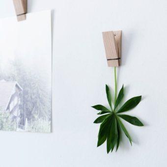 Holzklammern PINCH von Moebe als Notizhalter aus Holz