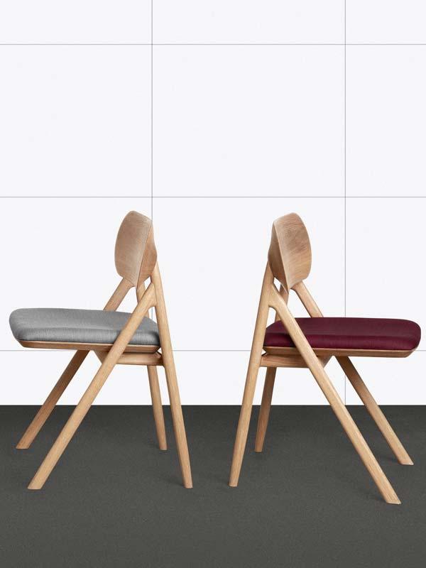 Der Design Stuhl THEODOR Kann Mit Seiner Gepolsterteten Sitzfläche Ebenso  Als Moderne Alternative Zum Sessel Fungieren