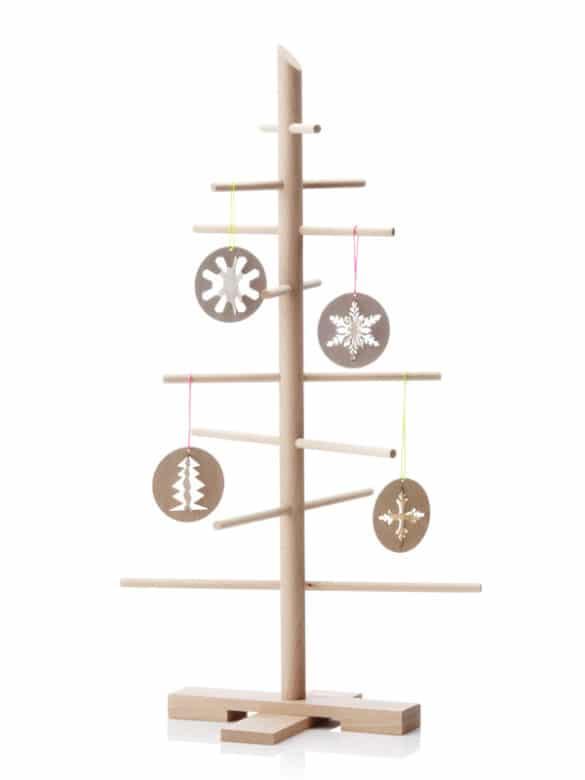 skandinavische weihnachten in schlichten formen und farben. Black Bedroom Furniture Sets. Home Design Ideas