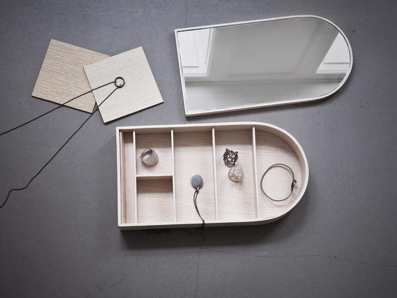 JEWELLERY BOX von Menu - Schmuckkästchen mit Spiegel