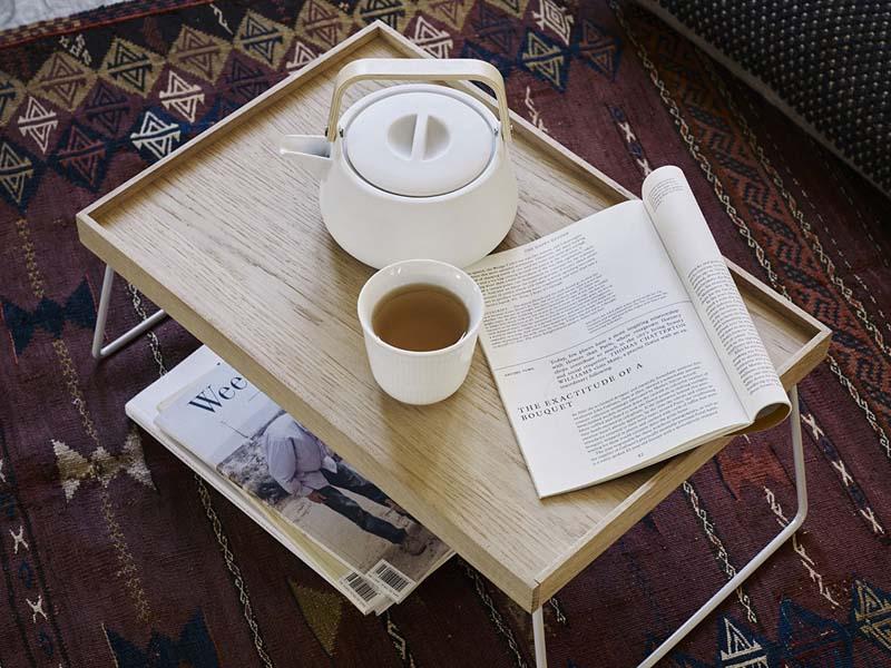 Modernes Tischtablett im dänischen Design von Skagerak - NOMAD