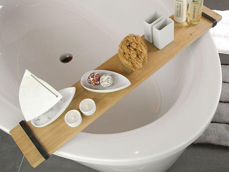 Badewannenablage BADEBRETT von Raumgestalt für die Hochzeitswunschliste