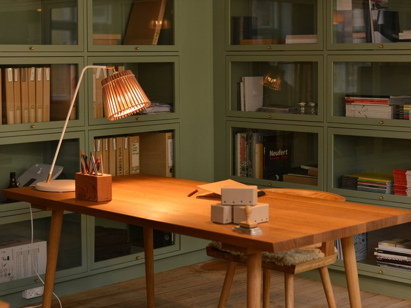Tischleuchte Pencil Lamp Tom Rossau Bleistifte Home Office
