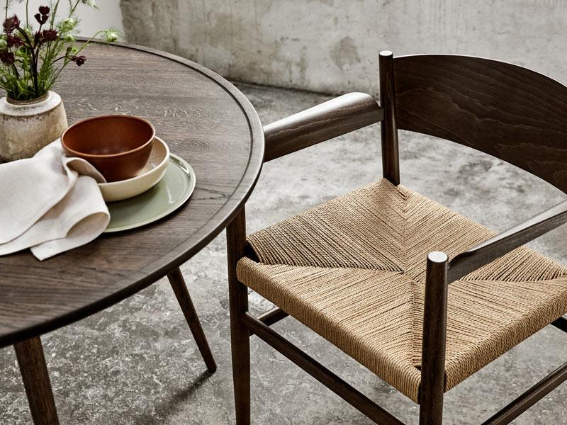 Mater Nestor Chair dänische Flechtschnur Shaker