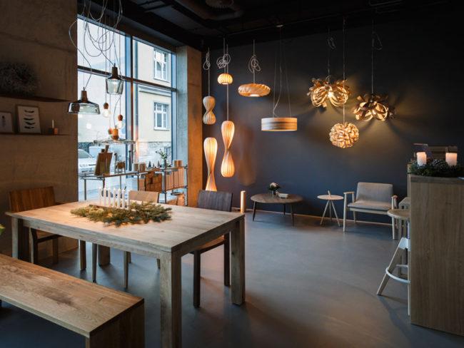 Showroom im Holz & Hygge - Großer Esstisch