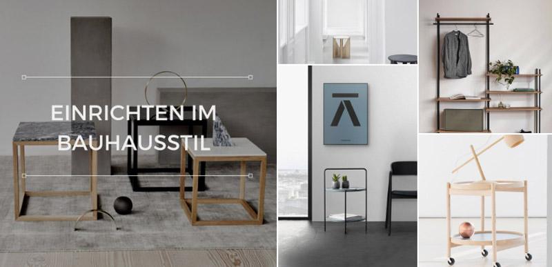 100 Jahre Bauhaus - Einrichten im Bauhausstil