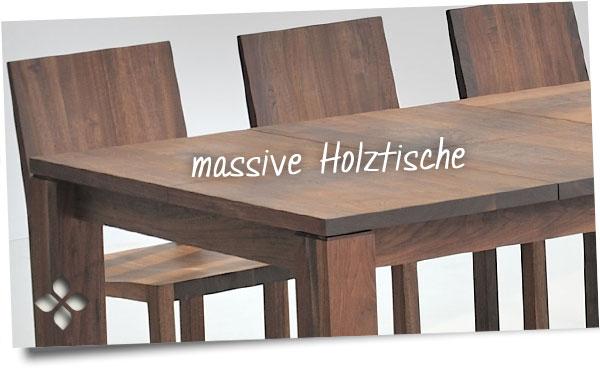 holztische massiv massivholztische f r ihr zuhause. Black Bedroom Furniture Sets. Home Design Ideas