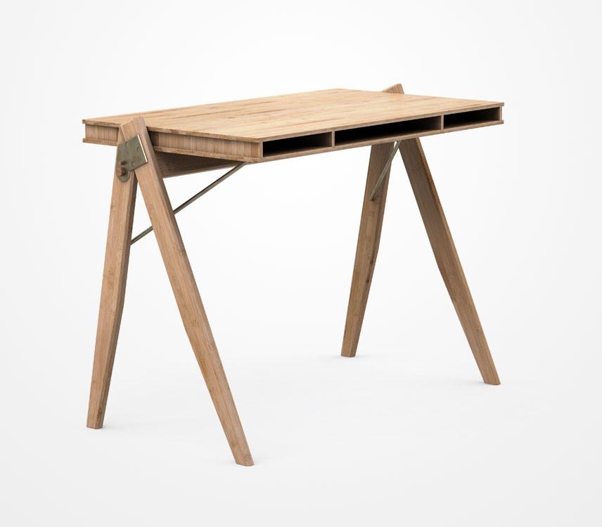 designer schreibtisch field desk von wedowood. Black Bedroom Furniture Sets. Home Design Ideas