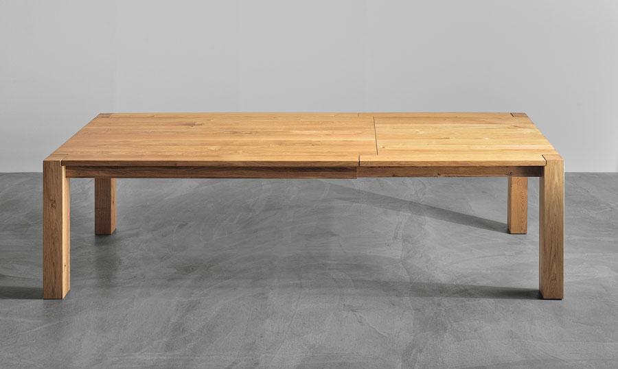 tisch massiv ausziehbar massivholztisch taurus. Black Bedroom Furniture Sets. Home Design Ideas