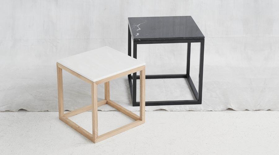 beistelltisch the cube table von kristina dam. Black Bedroom Furniture Sets. Home Design Ideas
