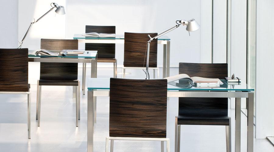 b rostuhl aus holz kuadra 1321 stuhl f r das b ro von. Black Bedroom Furniture Sets. Home Design Ideas