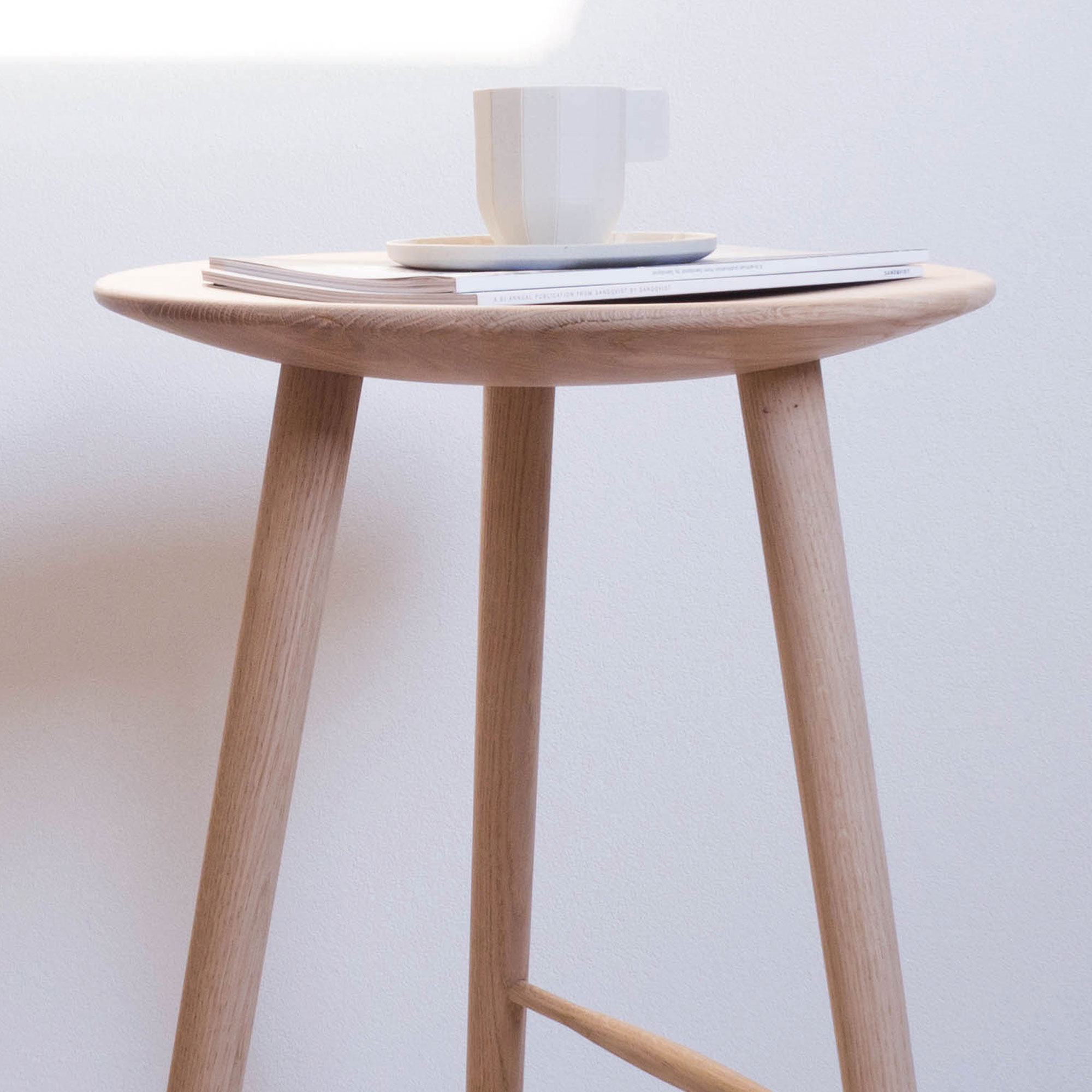 Barhocker Design design barhocker divolo aus holz ohne lehne applicata
