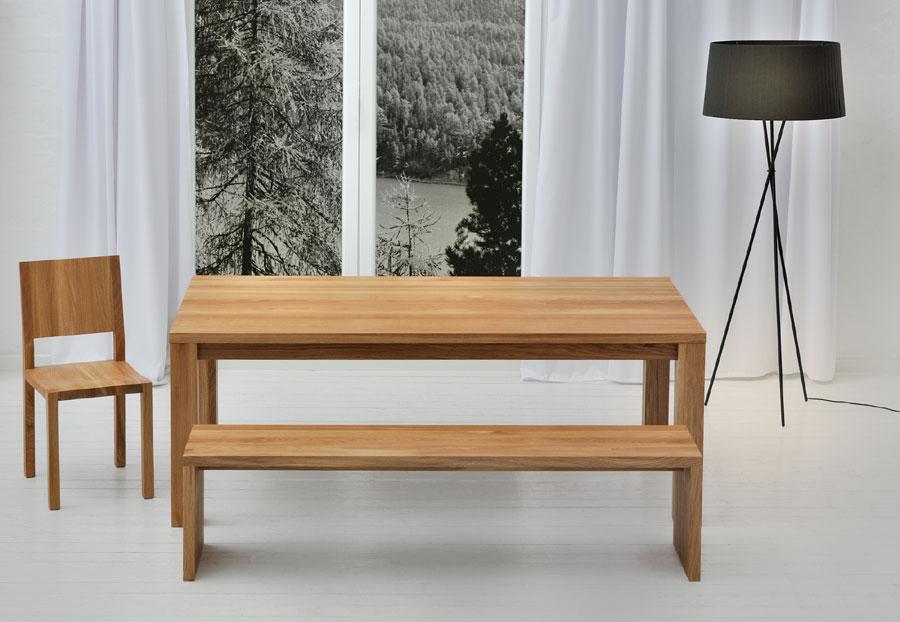 esszimmer sitzbank die bank mena von vitamin design. Black Bedroom Furniture Sets. Home Design Ideas