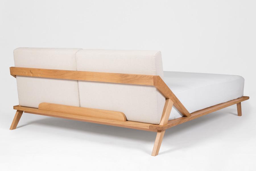 nordic space bett von ellenberger design holzdesignpur. Black Bedroom Furniture Sets. Home Design Ideas
