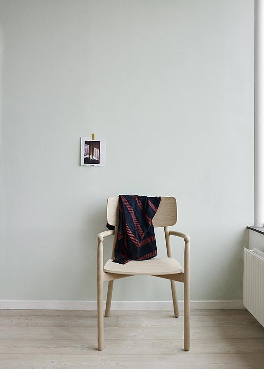 Design Esszimmerstuhl stuhl hven mit armlehne skagerak i holzdesignpur