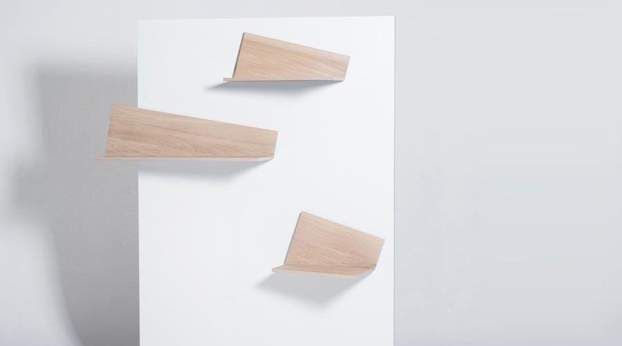 Wandregale Aus Holz kleine wandregale aus holz pliage drugeot labo