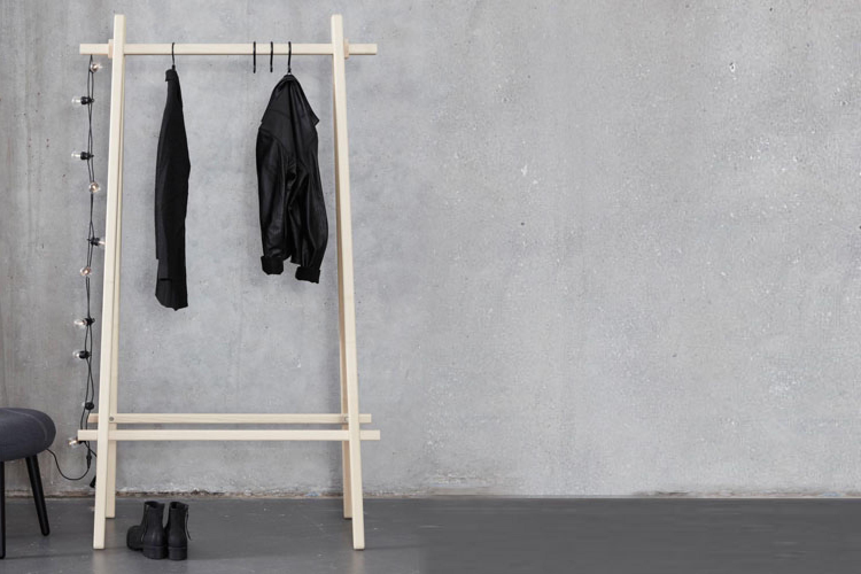 standgarderobe clothes rack von andersen furniture. Black Bedroom Furniture Sets. Home Design Ideas