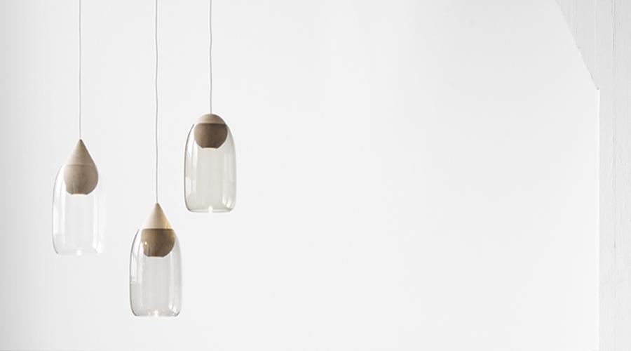 Liuku Glasleuchte Von Mater I Holzdesignpur