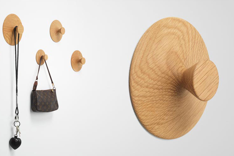Wandhaken Garderobe Holz