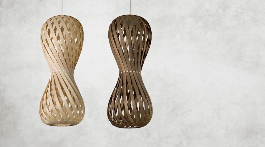 design pendelleuchte aus holz leuchte swing von dreizehngrad. Black Bedroom Furniture Sets. Home Design Ideas