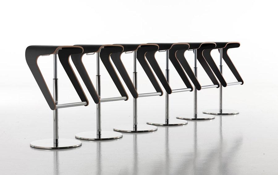 design barhocker woody 495 von pedrali. Black Bedroom Furniture Sets. Home Design Ideas