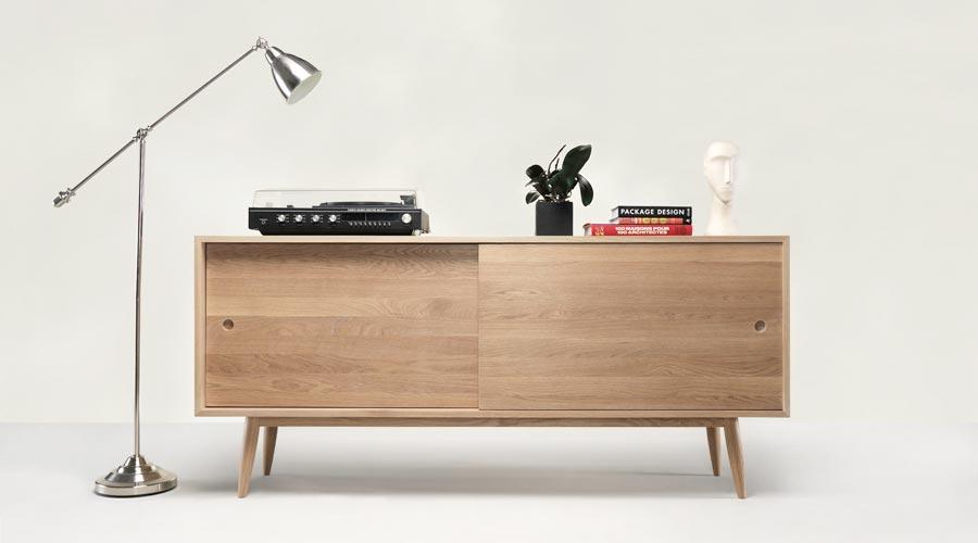 Massivholz Sideboard Oak Von Wewood I Holzdesignpur