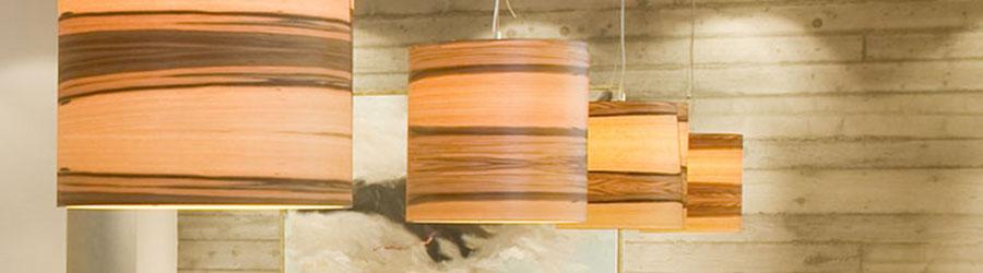 Stilvolle Pendelleuchte aus Holz I HolzDesignPur ...