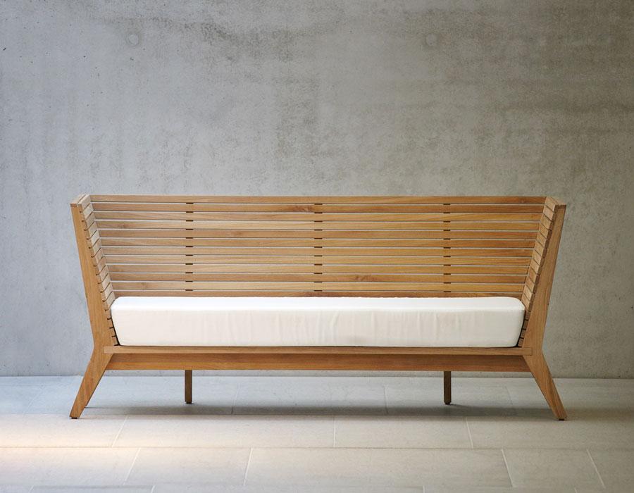 Holz-Gartenbank aus Teak - Sitzbank WILLIAM - Jan Kurtz