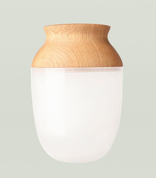 vase symbiosis von nordic tales i holzdesignpur. Black Bedroom Furniture Sets. Home Design Ideas