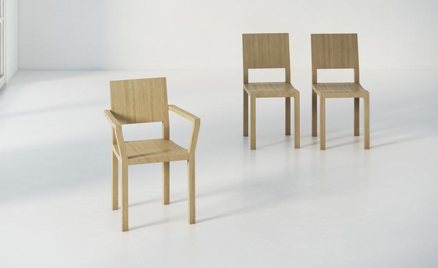 Stuhl Tau A Mit Armlehne Aus Holz Holzdesignpur