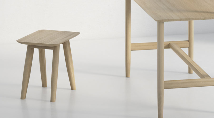 hocker aeteas von vitamin design i holzdesignpur. Black Bedroom Furniture Sets. Home Design Ideas