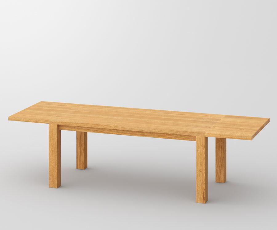 esstisch aus massivholz zum ausziehen tisch cubus. Black Bedroom Furniture Sets. Home Design Ideas
