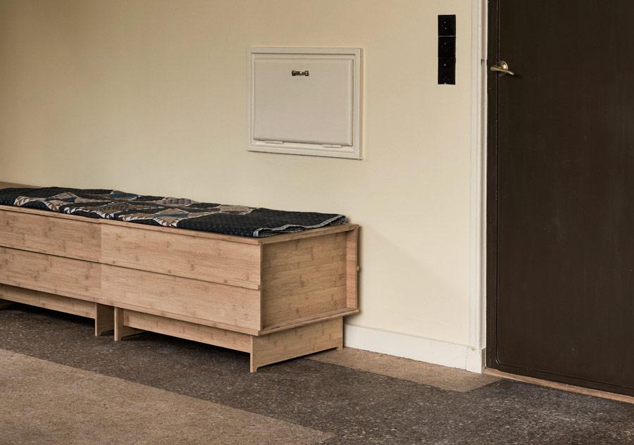 sitzbank correlation aus bambus holz von wedowood. Black Bedroom Furniture Sets. Home Design Ideas