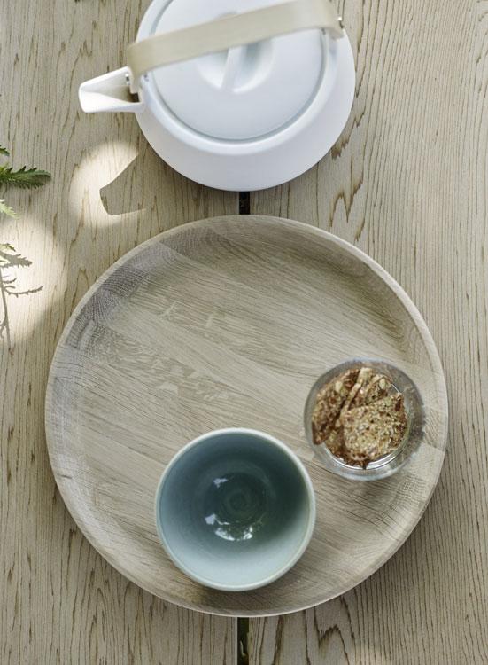 tablett nordic tray von skagerak i holzdesignpur. Black Bedroom Furniture Sets. Home Design Ideas