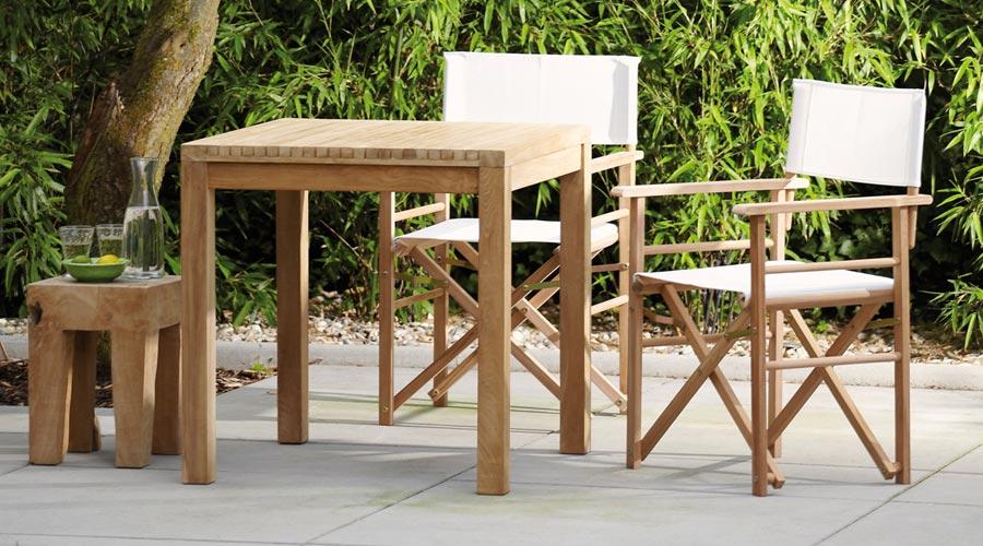 holztisch f r terrasse garten gartentisch samoa. Black Bedroom Furniture Sets. Home Design Ideas