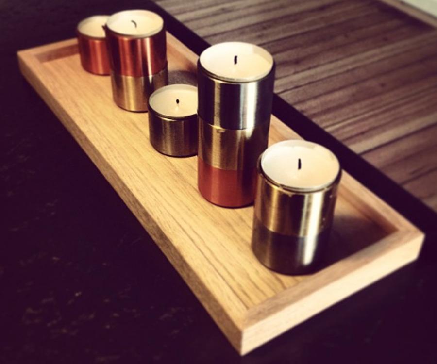 Tablett Square Tray Von The Oak Men I Holzdesignpur