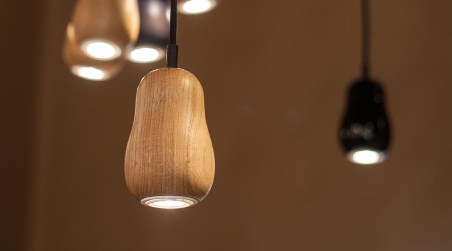 design lampe babula s1 von krools i holzdesignpur. Black Bedroom Furniture Sets. Home Design Ideas
