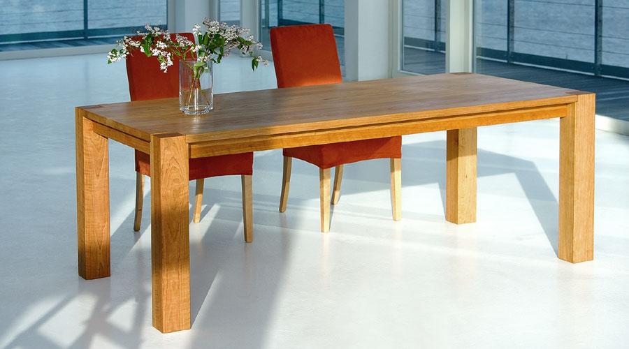 Massiver Tisch Zum Ausziehen   Massivholztisch TAURUS Von Vitamin Design