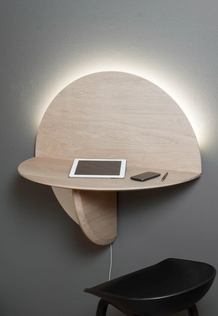 Schreibtisch klappbar saturne von drugeot manufacture - Klappbarer schreibtisch ...