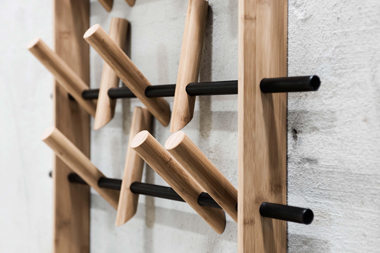 Design wandgarderobe coat frame von we do wood - Wandgarderobe bambus ...